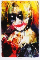 """Jason Oakes - """"Harley Quinn"""" Signed Vixens Collection 13"""" x 19"""" Lithograph"""