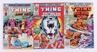 """Lot of (3) 1982 Marvel """"Marvel Two-In-One"""" Comic Books"""