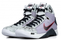 "Kobe Bryant Signed Limited Edition Nike Hyperdunk Olympic Shoes Inscribed ""2x Gold"" #1/8 (Panini COA)"