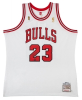 Michael Jordan Signed Limited Edition Bulls 1997 NBA Finals Authentic Mitchell & Ness Jersey #1/123 (UDA COA)