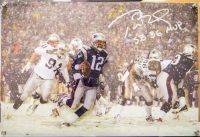 "Tom Brady Signed Limited Edition Patriots 16x20 Diebond Plexiglass Photo Display Inscribed ""SB 36 MVP"" 1/12 (Steiner COA)"