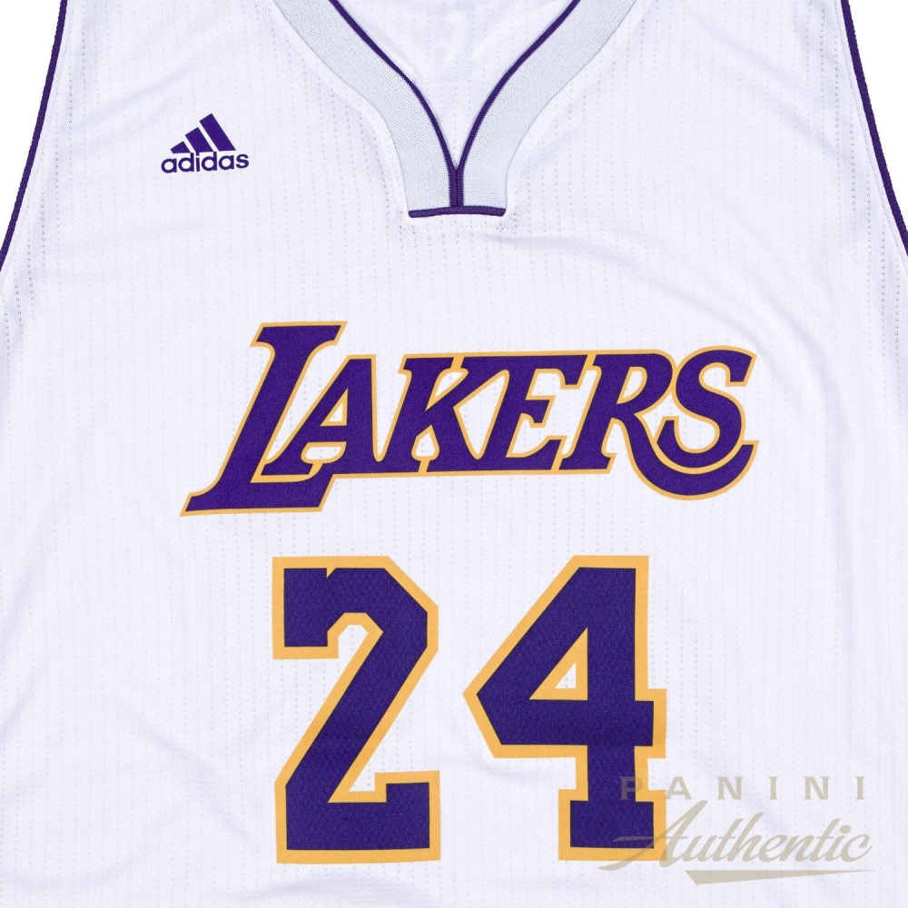 13f2499ac854 ... FinishLine Kobe Bryant Signed Limited Edition Lakers Authentic Adidas  Swingmann Jersey Inscribed ...