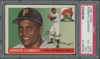 1955 Topps #164 Roberto Clemente RC (PSA 6) (OC)