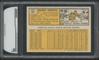 1963 Topps #200 Mickey Mantle (GAI 9) at PristineAuction.com
