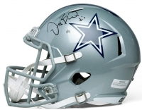 """Dez Bryant Signed Limited Edition Cowboys Full-Sized Speed Helmet Inscribed """"X"""" #1/50 (Panini COA)"""