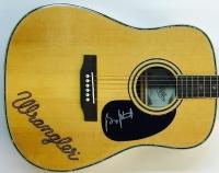 George Strait Signed Copley Wrangler Full-Size Acoustic Guitar (JSA LOA)