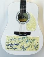 Lynyrd Skynyrd Band-Signed Stadium Acoustic Guitar with (9) Signatures Including Gary Rossington, Johnny Van Zant, Rickey Medlocke, Peter Keys, Mark Matejka, Michael Cartellone, Carol Chase, Dale Krantz-Rossington & Robert Kearns (JSA LOA)