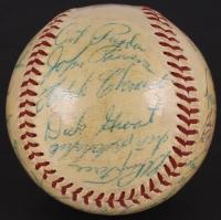 Vintage 1958 Pirates Spalding ONL Baseball Team Signed by (26) with Roberto Clemente, Bill Mazeroski, Dick Stuart, Ted Kluszewski, Bob Friend (JSA LOA)