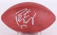 Peyton Manning & Tom Brady Signed NFL Football (TriStar Hologram)