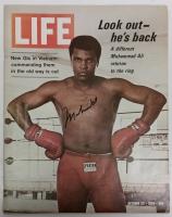 Muhammad Ali Signed Vintage 1970 LIFE Magazine (PSA LOA)