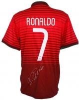Cristiano Ronaldo Signed Portugal Authentic Nike Soccer Jersey (PSA COA)