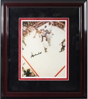 Muhammad Ali Signed 11x14 Custom Framed Photo Display (JSA)