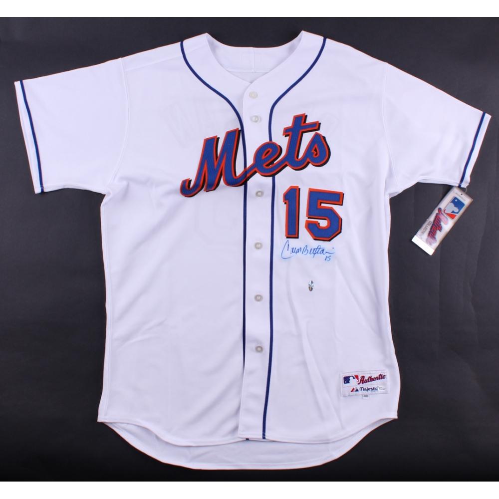 Carlos Beltran Signed Mets Jersey Online Authentics
