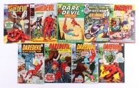 Lot of (9) Vintage MARVEL Comic Books with The Amazing Spider-Man 1976 #45 & DareDevil 1970 #67, 1970 #66, 1970 #65, 1970 #64, 1970 #63, 1970 #62, 1972 #3 & 1970 #68