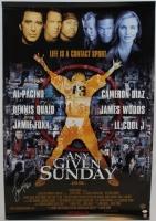 """Jamie Foxx Signed """"Any Given Sunday"""" 27"""" x 39"""" Movie Poster (JSA COA)"""