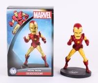 "Stan Lee Signed Marvel ""Iron Man"" 8"" Head Knocker (Stan Lee Hologram)"