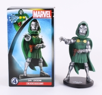 "Stan Lee Signed Marvel ""Dr. Doom"" 10"" Head Knocker (Stan Lee Hologram)"