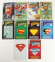 Lot of (10) Vintage DC Comic Books with Superman 1993 #82, #78, #75, #22, #687, #501, #500 & 1994 #703