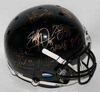Heisman Trophy Winners Full-Size Helmet Signed by (24) Including Barry Sanders, Marcus Allen, Bo Jackson, Earl Campbell (Steiner LOA)