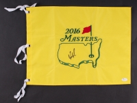 "Fred Couples Signed 2016 Masters Tournament 13"" x 17.5"" Golf Pin Flag (JSA COA)"