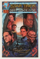 """Gordon Purcell Signed 1993 """"Star Trek: Deep Space Nine"""" Issue #1 Comic Book LE (Dynamic Forces COA)"""