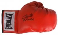 Roberto Duran Signed Everlast Boxing Glove (JSA COA)