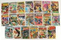 Lot of (20) Vintage Marvel Comic Books