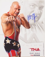 Kurt Angle Signed TNA 8x10 Photo (SI COA) at PristineAuction.com