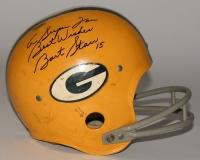 "Bart Starr Signed Packers Full-Size TK Suspension Helmet Inscribed ""A Super Fan"" & ""Best Wishes"" (JSA LOA)"
