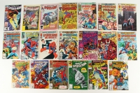 Lot of (20) Vintage MARVEL Comic Books with Spider-Man 1979 #100, 1982 #121, 1983 #125, #127, #128, #130, #132, #133, 1984 #169, 1986 #183, #186, 1988 #210, 1990 #335 1993 #100, #101, #102, #103, #104, #105, #375