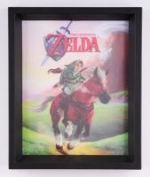 """The Legend of Zelda"" 9.25"" x 11.25"" 3D Custom Framed Photo Display"