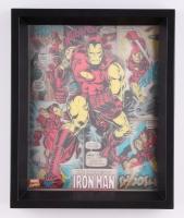"""The Invincible Iron Man"" 9.25"" x 11.25"" 3D Custom Framed Photo Display"