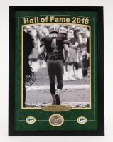 "Brett Favre Signed Packers 22""x 30""x 2"" Custom Framed Photo Shadow Box Display with High Quality 1996 World Champions Replica Ring (Brett Favre COA)"