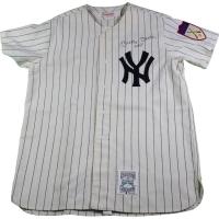 Mickey Mantle Signed Yankees Jersey (JSA LOA)