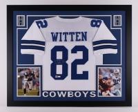 "Jason Witten Signed Cowboys 35"" x 43"" Custom Framed Jersey (JSA COA & Witten Hologram)"