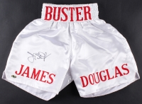 "James ""Buster"" Douglas Signed Boxing Shorts (MAB Hologram)"