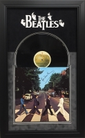 "Paul McCartney Signed The Beatles 1969 'Abbey Road' 19.5"" x 31.5"" Custom Framed Album Display (JSA LOA)"