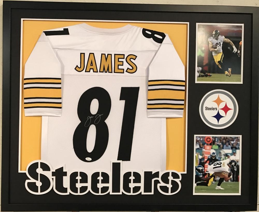 06f9a356988 Jesse James Signed Steelers 34
