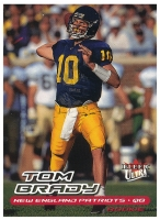 2000 Ultra #234 Tom Brady RC