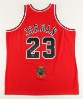 Michael Jordan Signed LE 2009 Bulls HOF Authentic Mitchell & Ness Jersey (UDA COA)