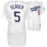 Corey Seager Signed Los Angeles Dodgers Jersey (Fanatics Hologram & MLB Hologram) at PristineAuction.com