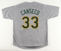 Jose Canseco Signed Athletics Jersey (Leaf COA) at PristineAuction.com