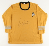 "William Shatner Signed Star Trek ""Captain James T. Kirk"" Prop Replica Uniform Shirt (Beckett COA)"