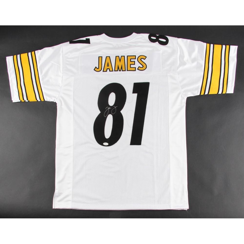2fb6ff3480a Jesse James Signed Steelers Jersey (JSA COA)