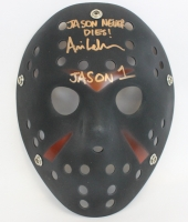 "Ari Lehman Signed Jason ""Friday the 13th"" Custom Matte Black Hockey Mask Inscribed ""Jason Never Dies!"" & ""Jason 1"" (PA COA)"
