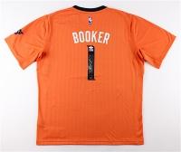 "Devin Booker Signed Suns Authentic Adidas Swingman Jersey Inscribed ""70!"" (JSA COA)"