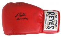 Roberto Duran Signed Cleto Reyes Boxing Glove (JSA COA)