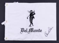 "Arnold Palmer Signed ""Del Monte"" Golf Pin Flag (JSA ALOA)"