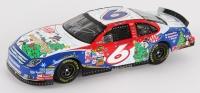 Mark Martin Signed 'Season's Greetings' NASCAR 1:24 Die Cast Car (JSA COA)