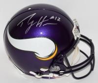 Percy Harvin Signed Vikings Full-Size Authentic Pro-Line Helmet (Harvin Hologram)